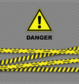 danger background vector image