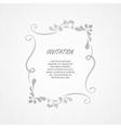 Elegant element for design template vector image vector image