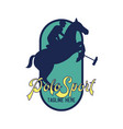 polo sport logo with text space for your slogan vector image vector image