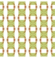 Square and star seamless pattern vector image vector image