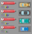 car-infographics-01 vector image