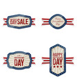 independence day greeting banners set vector image vector image