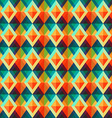 retro rhombus seamless pattern vector image vector image