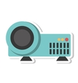 video projector device isolated icon vector image
