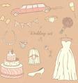 Weddingday vector image