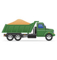 cargo truck concept 08 vector image vector image