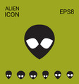 eextraterrestrial alien icon vector image