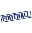 football stamp vector image vector image