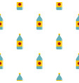 water bottle pattern seamless vector image vector image