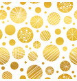 abstract golden yellow hand drawn vector image