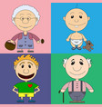 characters for the childrens book vector image