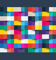 colorful abstract background square paper cut vector image vector image