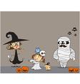 Halloween Family 001 vector image