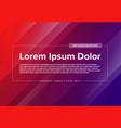 modern art flyer template vector image vector image