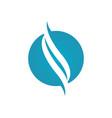 s letter logo vector image vector image