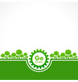 save nature concept - world environment day vector image