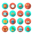 Travel Icon Flat vector image