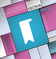 bookmark icon sign Modern flat style for your vector image