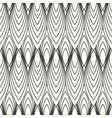 monochrome abstract pattern vector image