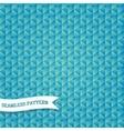 vintage hexagonal mosaic background vector image