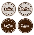 a banner coffee vector image
