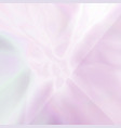 abstract blurred holographic pink background vector image vector image