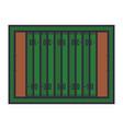 american football board vector image