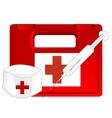 Box with medicine vector image