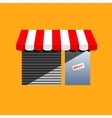 Corner shop cartoon drawing vector image vector image