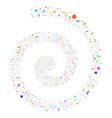 narcotic drugs fireworks spiral vector image vector image