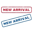New Arrival Rubber Stamps vector image vector image
