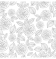 Ornate seamless pattern with the stylized vector image vector image