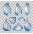 Pure Clear Realistic Water vector image