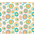 Retro seamless pattern geometric background vector image