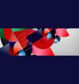 semi cicrle geometric backgrounds on grey modern vector image vector image