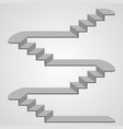 staircase 3d vector image
