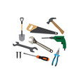 tools graphic design template isolated vector image
