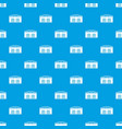 warehouse factory pattern seamless blue vector image vector image