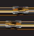 yellow grey tone polygon futuristic design modern vector image vector image