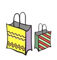 NewYearBags vector image