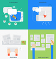 Element of Advertisment concept icon in flat vector image