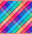 abstract 3d striped geometric square pattern vector image