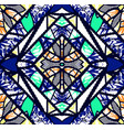 abstract kaleidoscope pattern seamless background vector image