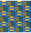 african tribal kente seamless pattern vector image vector image