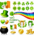 Collection of saint patricks day symbols vector | Price: 1 Credit (USD $1)
