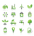 Environment and ecology icons vector | Price: 1 Credit (USD $1)