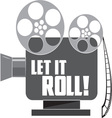 Let It Roll vector image vector image