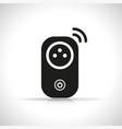 wifi smart plug icon vector image vector image