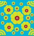 bright cherry blossom pattern in spring vector image vector image