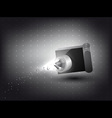 Camera Light Effect vector image vector image